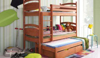 CEZARY łóżko 3 osobowe