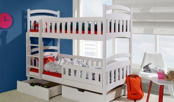 DOMINIK II łóżko 2 osobowe piętrowe