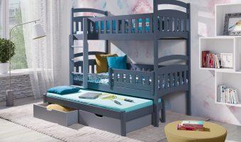 DOMINIK III łóżko 3 osobowe