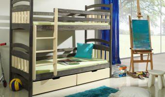 JAKUB łóżko 2 osobowe piętrowe