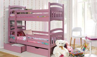 JAKUB II łóżko 2 osobowe piętrowe