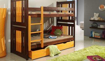 KORNEL łóżko 2 osobowe piętrowe