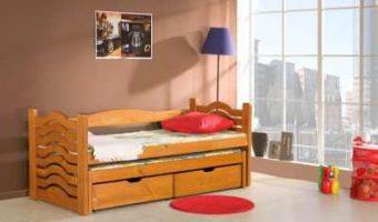 MIKOŁAJ łóżko 2 osobowe