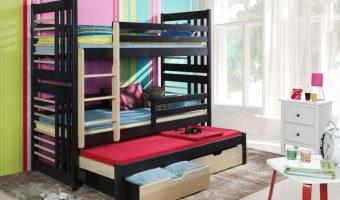 ROLAND III łóżko 3 osobowe