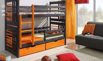 ROLAND łóżko 2 osobowe piętrowe