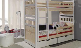 SALOMON II łóżko 2 osobowe piętrowe