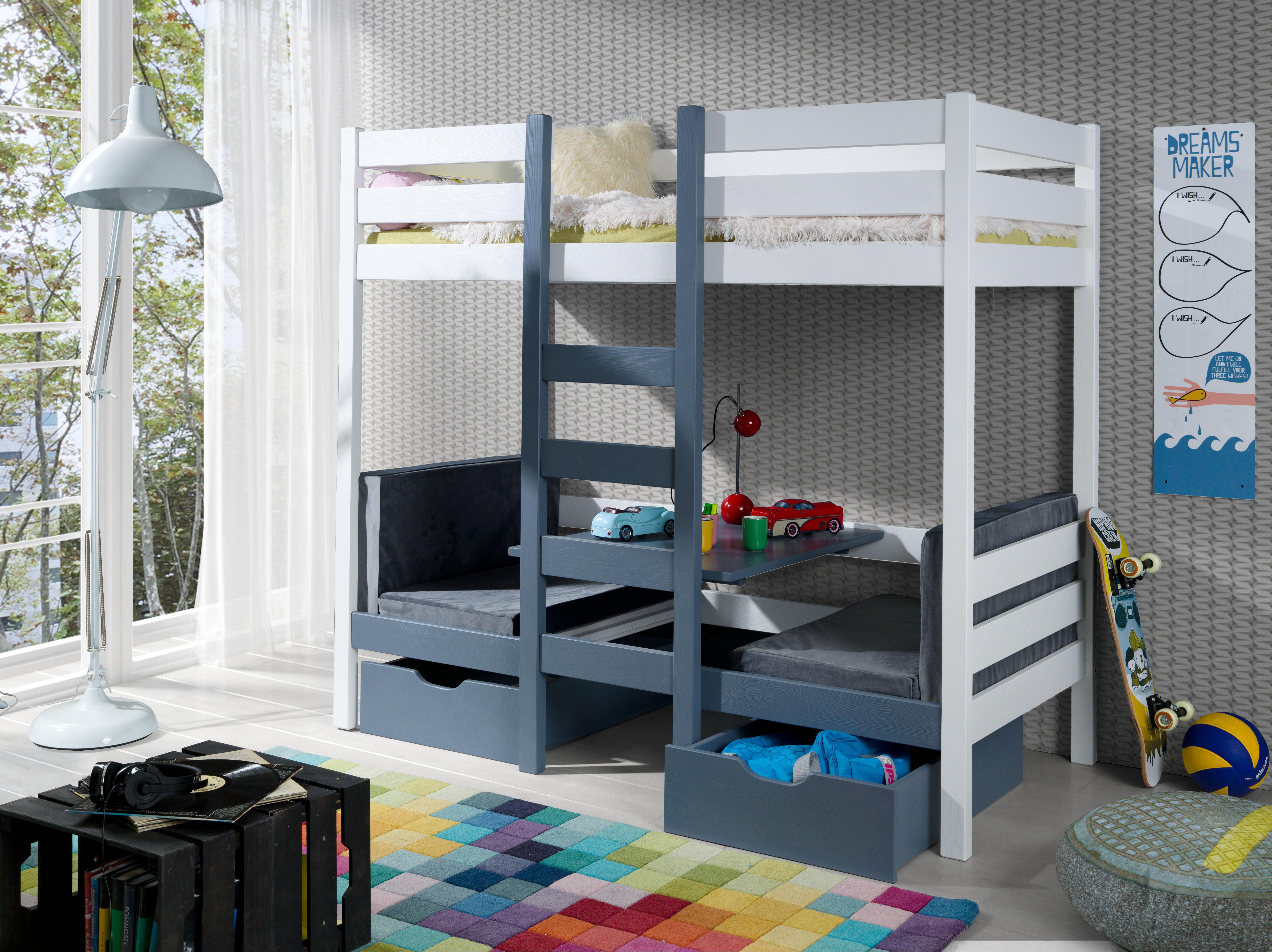 Bartosz łóżko 2 Osobowe Piętrowe Meblobed