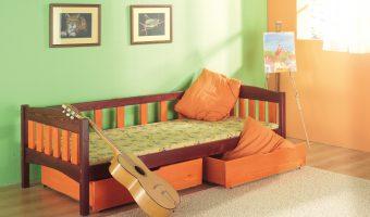 ZUZANNA łóżko 1 osobowe