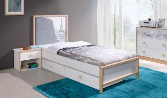BENTO łóżko 1 osobowe