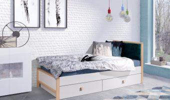ZARA łóżko 1 osobowe