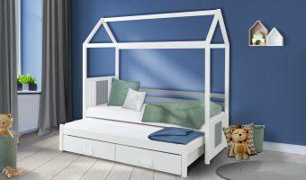 JONAS łóżko 2 osobowe – DOMEK