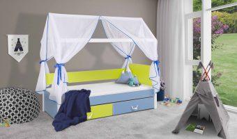 OFELIA łóżko 1 osobowe – domek