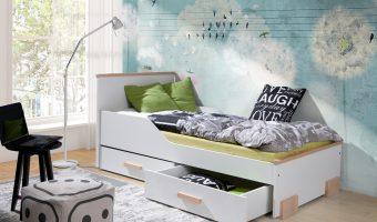 CAREN łóżko 1 osobowe