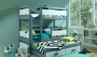 RUBEN III łóżko 3 osobowe