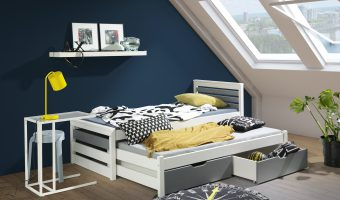 CALWIN łóżko 2 osobowe