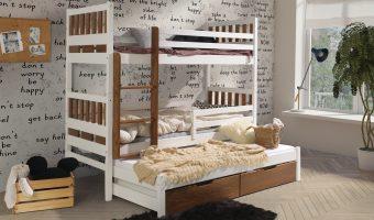 KARIM III łóżko 3 osobowe