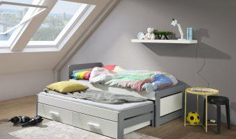TIESTO łóżko 2 osobowe